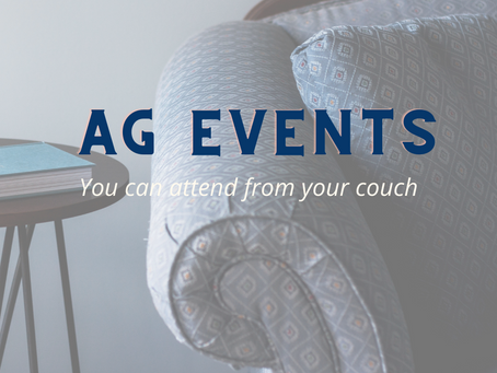 Upcoming Agriculture Events You Can Attend From Your Couch