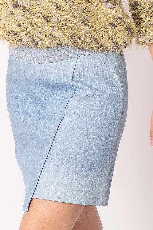 Jeans Skirt in Skyblue or dark grey
