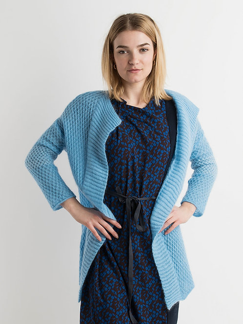 Long Mohair Cardigan in different colors