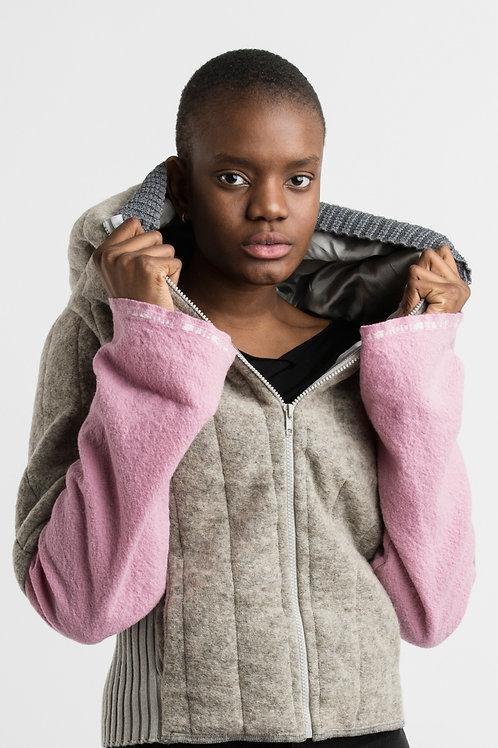 Grey and Pink Jacket