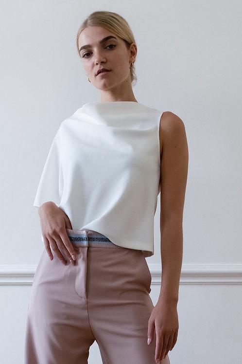 Asymmetric Top in White