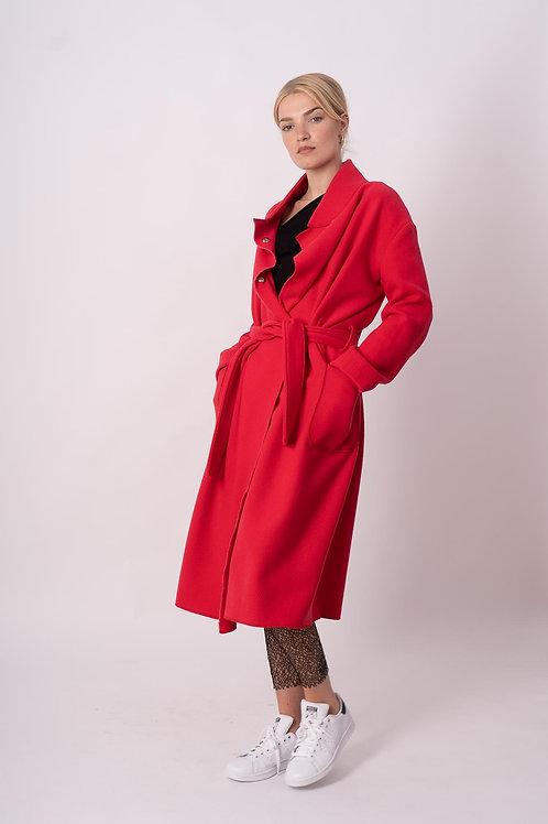 Long Coat in Pink