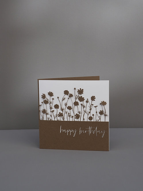 Blumenwiese Happy Birthday