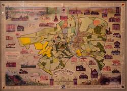 Village layout tapestry