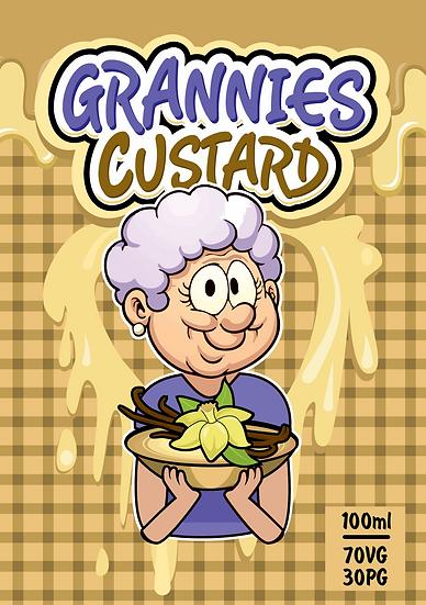 Grannies Custard E-Liquid - 100ml