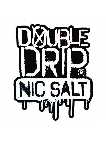 Double Drip Nic Salt E-Liquid - 10ml