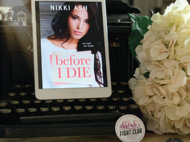 Before I Die | Nikki Ash | REVIEW