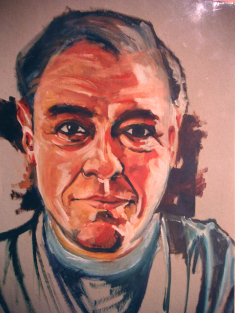 Portrait of Roger Ellis