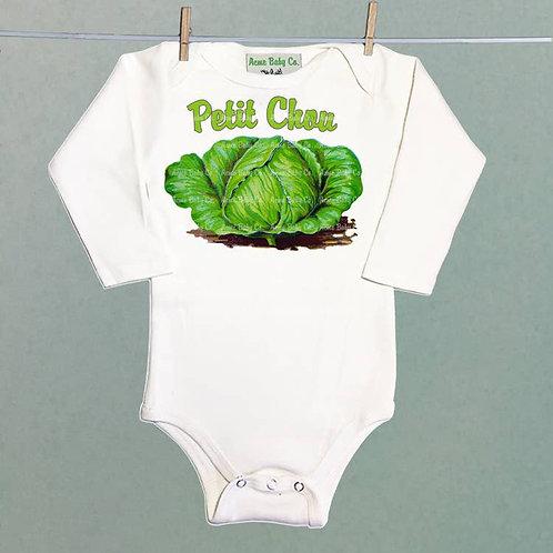 Petite Chou Long Sleeve Baby Onesie