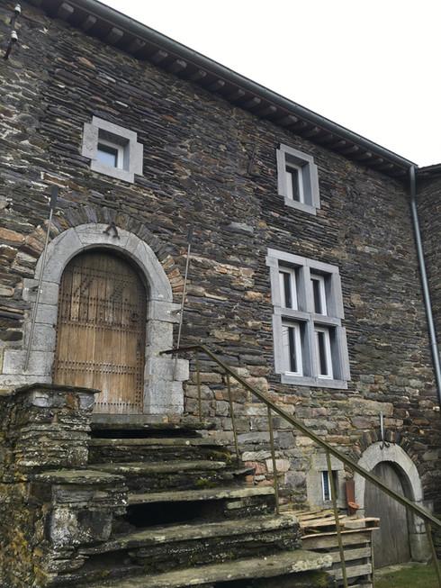 L'ancien Château d'Huart à Lierneux.