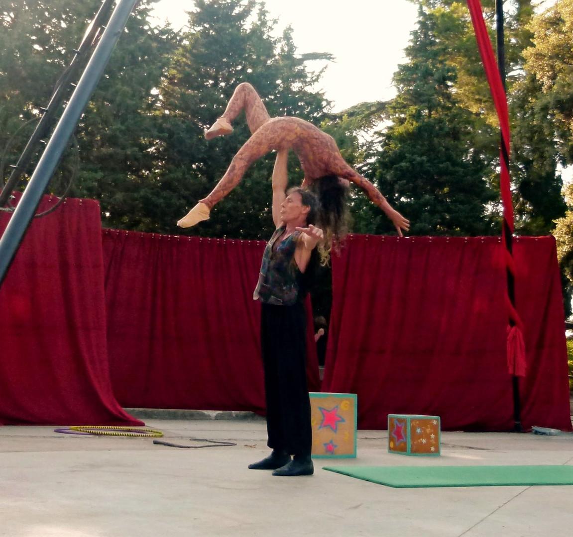 Numéro de portés acrobatiques