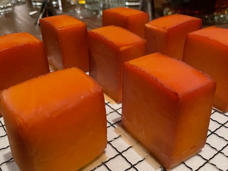 スモークチーズ(ファクトリーチーズ耐久温度検証)