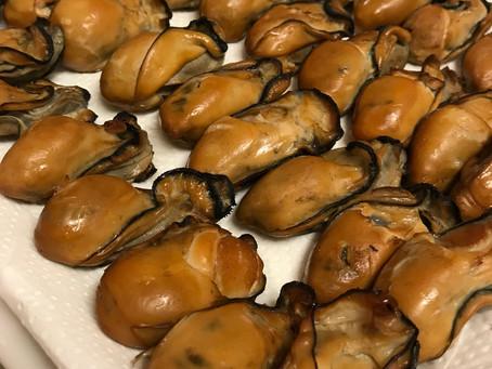牡蠣燻製【熱燻】
