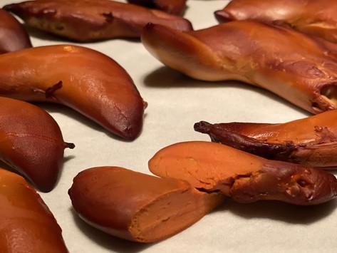 ホタテ卵巣燻製(オリーブオイル漬け)