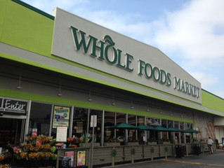Living near Wholefoods or Trader Joes, good for Real Estate value!
