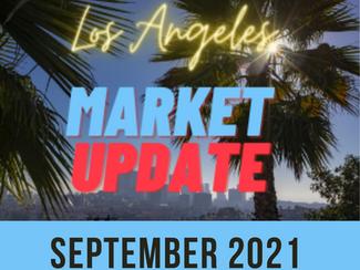 Los Angeles Real Estate Market Update - SEPT 2021