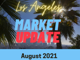 August 2021 Los Angeles Market Update - Sales Decline but are Prices?