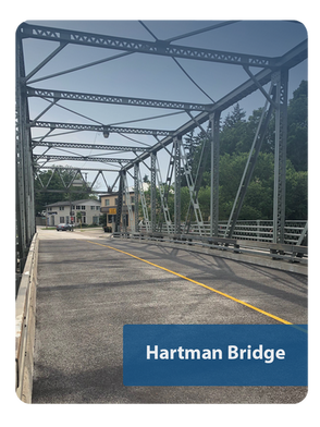 Hartman Bridge Deck Rehabilitation, New Hamburg