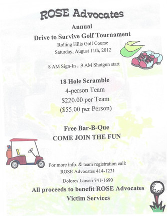 ROSE Advocates Annual Golf Tournament