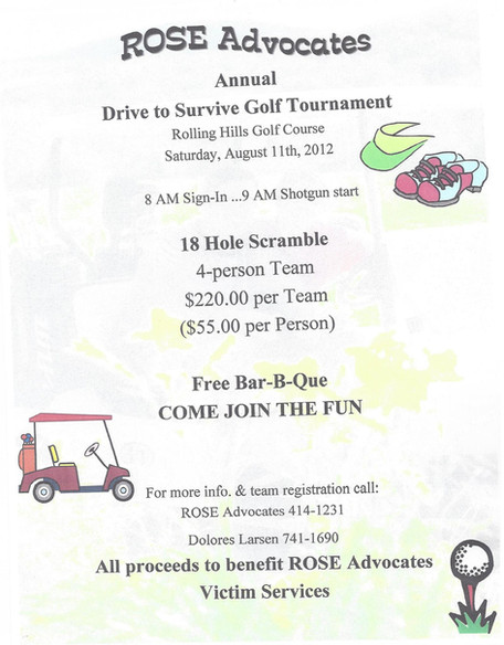 ROSE Advocates Annual Golf Tournament 2019