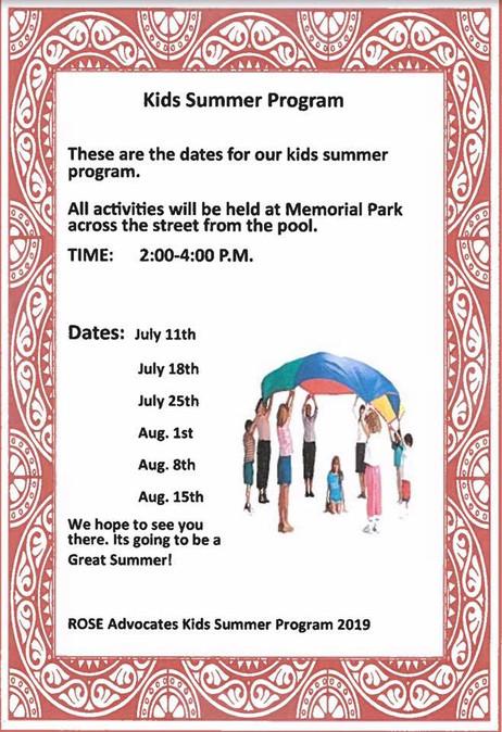 Kids Summer Program