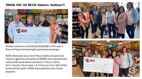 """Stinker Station """"Piece of Hope"""" Campaign"""