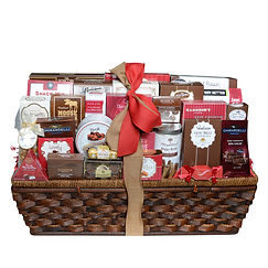 Holiday Extravagnza Executive Corporate Chocolate Gift Basket