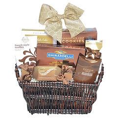 Gourmet Chocolate Assortment Gift Basket