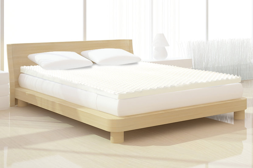 Egg Crate Memory Foam Mattress Topper (King)