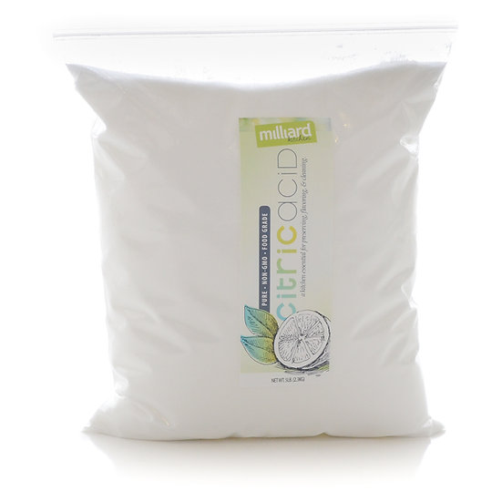 100% Pure Food Grade Citric Acid (5 lb)