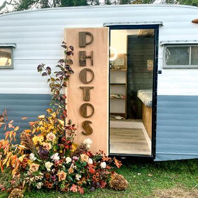 Custom Photo Booth Camper