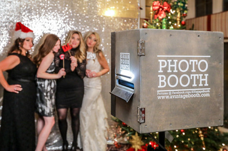 The New Jersey Photo booth in use