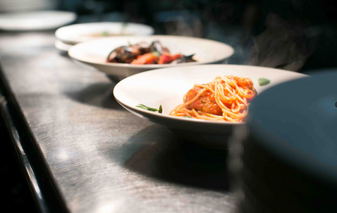 Line Restaurant Editorial