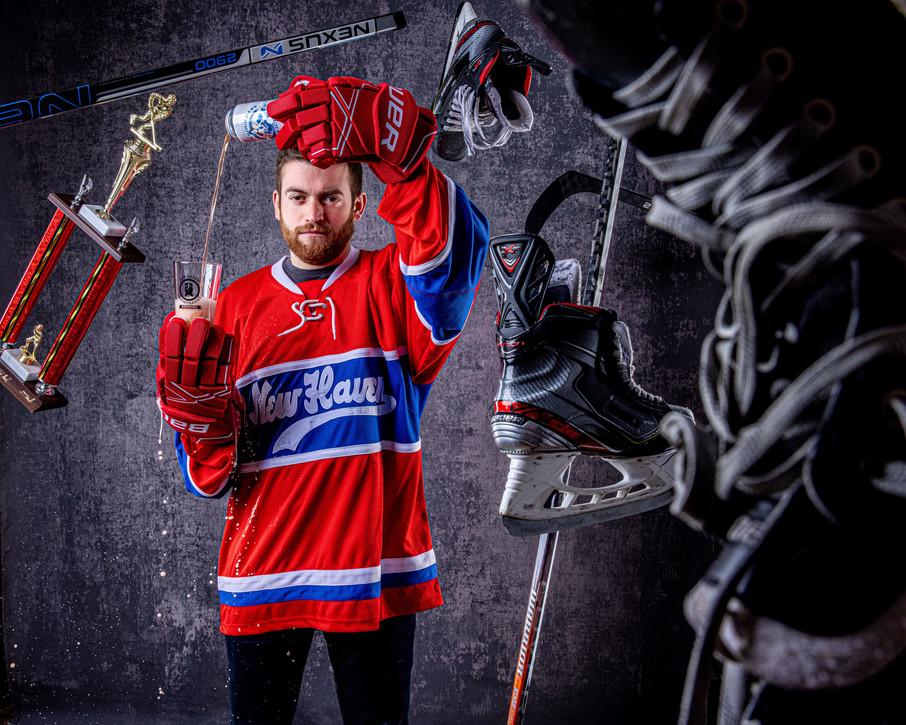 Vintage Ice Hockey Jersey Release NightH