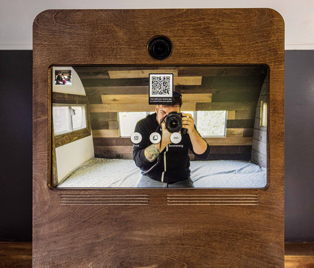 The Touchscreen with Touchless QR code