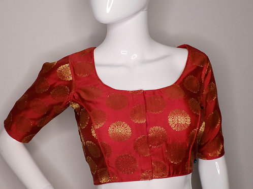 Brocade blouse forIndian Sari