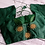 Thumbnail: Bottle green Aari handwork blouse for Indian sari