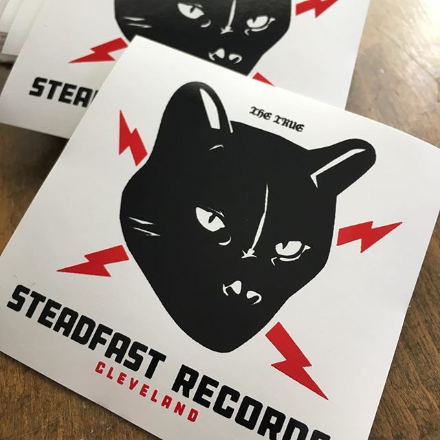 Steadfast Records stickers