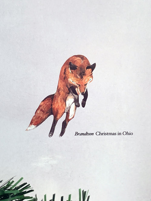 "Brandtson: Christmas in Ohio: 7"" or Cassette"