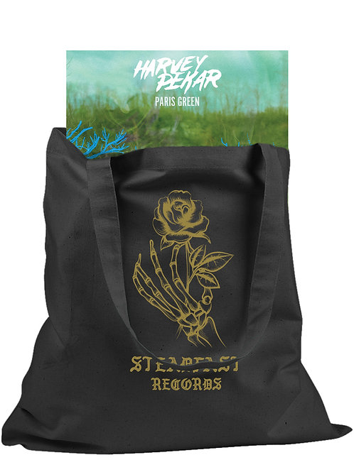 Steadfast Dead Rose Canvas Tote