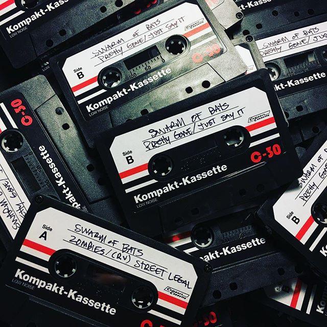 Swarm of Bats cassettes