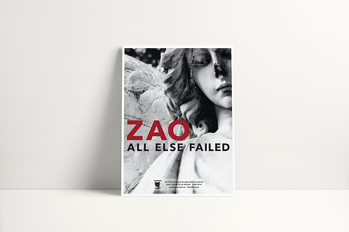 Zao All Else Failed 18x24 Poster