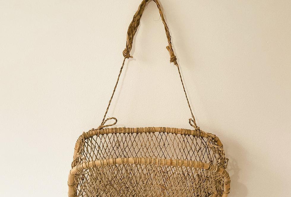 Medium Mexican Huacal Hanging Basket
