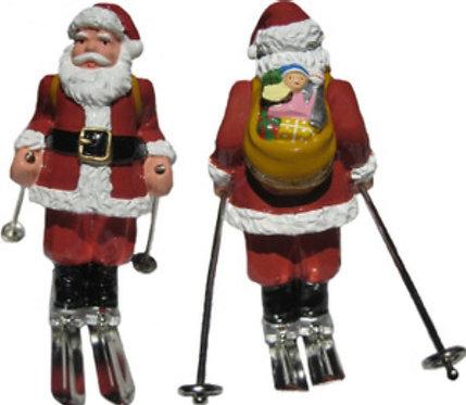 #4016 - Large Santa On Skis