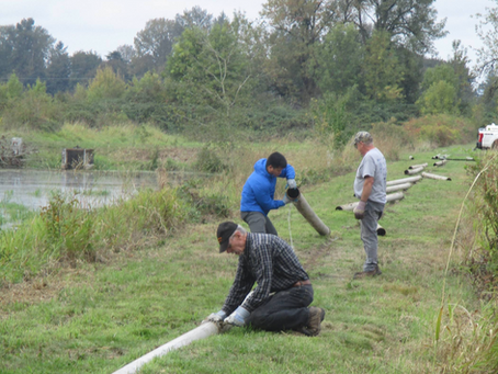2019 St. Paul Warmwater Fish Hatchery Work Party