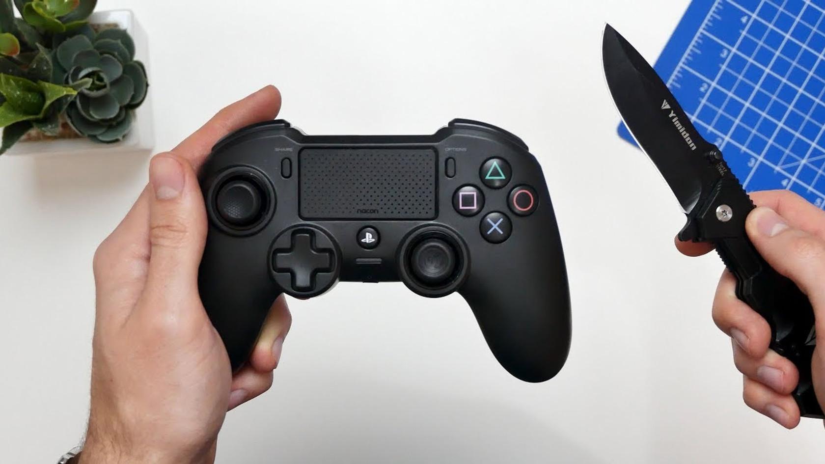Best PS4 Controller? Nacon Asymmetric unboxing + Sekiro gameplay | ASMR