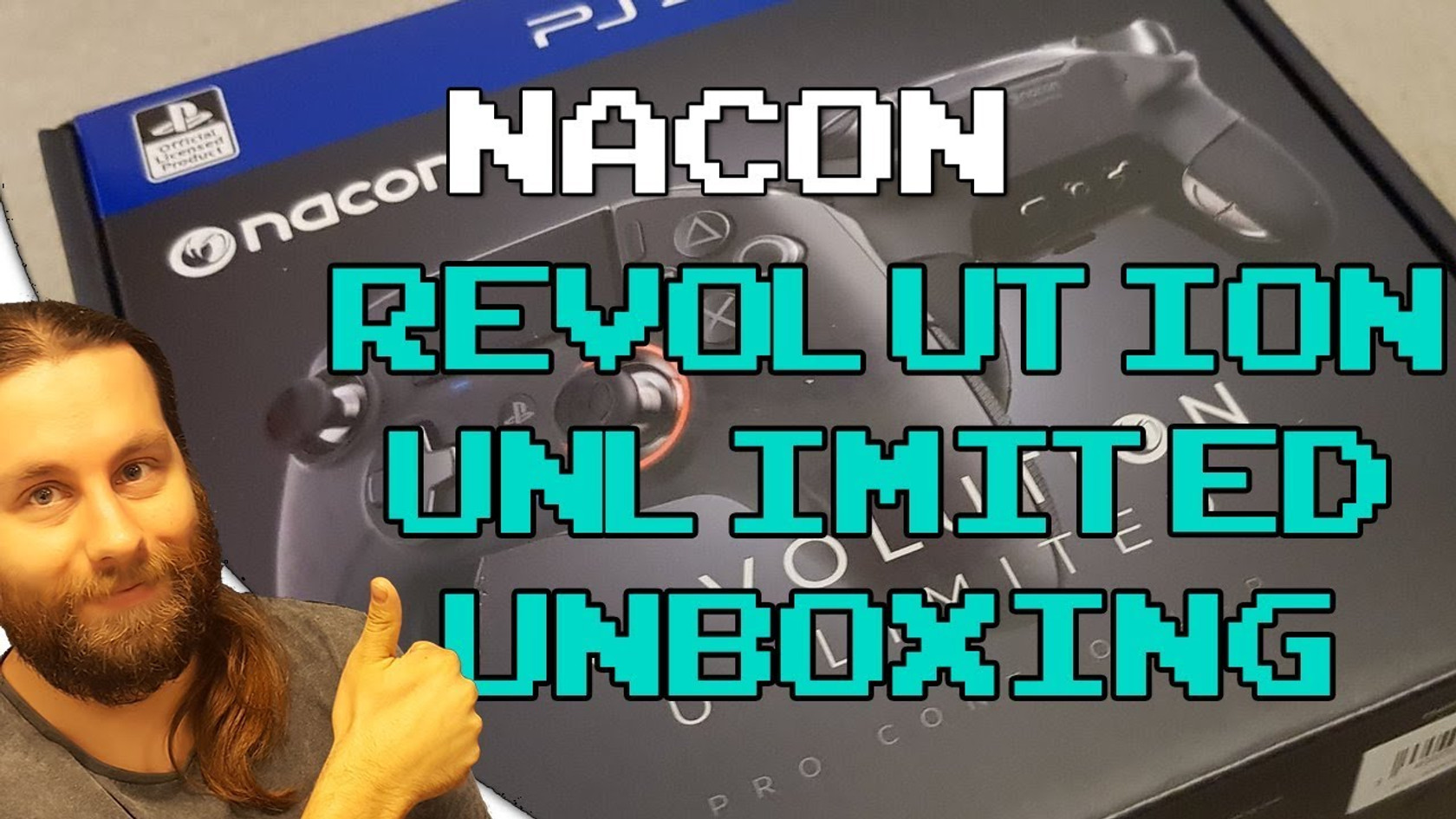 Nacon Revolution Unlimited Pro controller unboxing