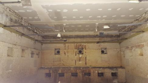 Modular floor fire resistance test