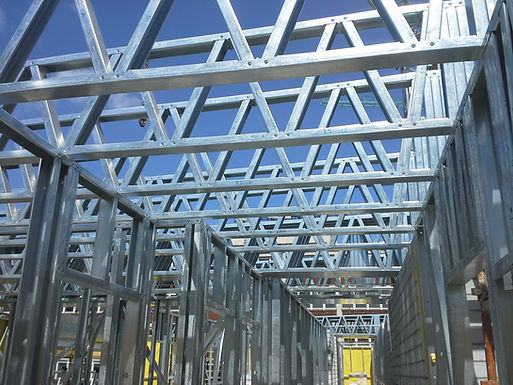 AUG 2014 - Light Steel Frame Certification awarded to James Young