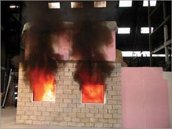 Fire test project management